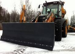 Отвал на экскаватор погрузчик для уборки снега
