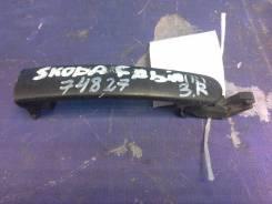 Ручка двери задней наружная правая, Skoda Fabia 2007-2015 [5N0839885H]