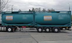 Танк-контейнер T4 новый 25 м3 для светлых нефтепродуктов