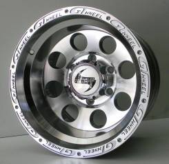 Диск OFF ROAD 15x10J 6x139.7 ET-44 D110.1 SIL POL