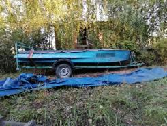 Продам лодку с двигателем и прицепом