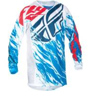 Джерси FLY Racing Kinetic Relapse голубой красный S