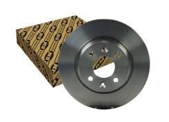 Диск тормозной Renault Logan/Sandero передний не вент. D=259мм. BM-Motorsport BD5757