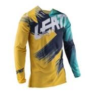 Джерси Leatt GPX 4.5 Lite желтый голубой Xxxxl