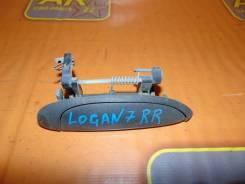 Ручка двери наружная Renault Logan 2007, правая задняя