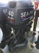 Лодочный мотор Sea-Pro T40JS Водомет БУ в идеальном состоянии