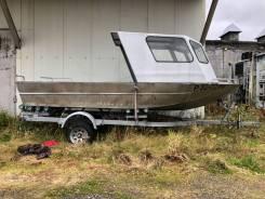 Продам лодку с телегой.