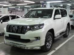 Защита переднего бампера Toyota LC Prado 150 Style 2019-н. в.