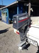 Лодочный мотор Yamaha 8 л. с, 1999 г, 2-x тактный, нога короткая,