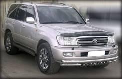 Защита бампера d-76+60 с доп. защитой картера Toyota LAND Cruiser 100
