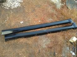 Пороги пластиковые subaru forester SG5