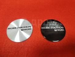 Наклейка WORK Emotion! 45 мм. В наличии!