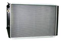 Радиатор УАЗ Патриот дв. ЗМЗ 409, Iveco, Евро 2, 3 алюминиевый (Nocolok
