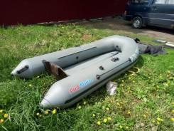 Продам комплект лодка+мотор 5 л. с. Tohatsu