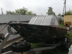 Продам лодку ока4 с мотором ямаха 60
