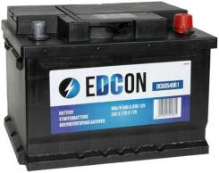 АКБ Edcon DC60540R1 19.5/17.9 евро 60Ah 540A 242/175/175