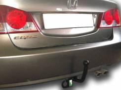 Фаркоп Honda Civic 2006-2012 седан (крюк съемный на двух болтах)