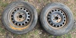 Колеса штамповки с резиной Michelin 195/65R15