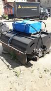 Новая дорожная щетка c бункером для сочлененных погрузчиков