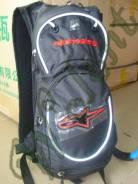 Рюкзак с поилкой Alpinestars черно красный