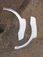 Арка задняя Peugeot 406 SW левая изготовлена из оцинкованной стали толщиной 1,0 мм.