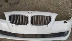 Бампер BMW 5 F10 2010г. Оригинал с противотуманками