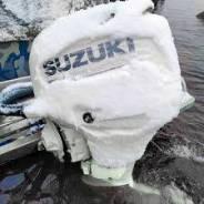 Мотор лодочный Suzuki DF300APX, белый