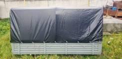 Платформа (кузов) УАЗ-33036 в сборе с тентом и дугами