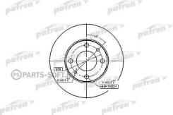 Диск тормозной передн FIAT: 124 66-75, 124 Familiare 67-75, 124 Spider 66-77, 124 купе 67-76, 125 67-74, 127 71-86, 127 Panorama 77-86, 128 69-84, 128 Familiare