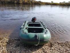 Лодка 3,80 с мотором 18 л. с.