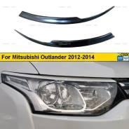 Реснички на фары для Mitsubishi Outlander 2012-2014