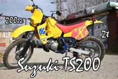 Suzuki TS200R, 1989