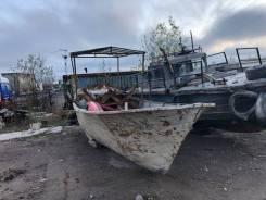 Лодка промыслово-транспортная стальная лпт-8