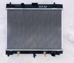 Радиатор охлаждения двигателя Toyota Vitz SCP90, 2SZFE