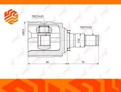 ШРУС внутренний Lynxauto CI3714