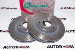 Диски тормозные перфорированные G-brake GFR-20804 (Передние)