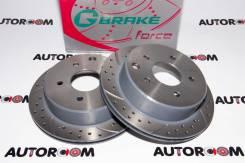Диски тормозные перфорированные G-brake GFR-20833 (Задние)