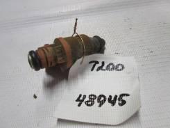 Форсунка топливная электрическая Chevrolet Aveo (T200) 2003-2008