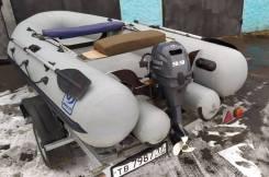 Продам лодку ПВХ Фрегат-350 без двигателя