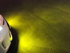 Лампы желтые LED H11 комплект Гарантия Опт