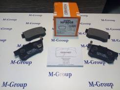 Колодки тормозные задние Nisshinbo NP8008 PF-8008 8397 Оригинал Япония