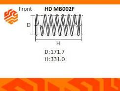 Усиленная пружина подвески NHK HDMB002F передняя (Япония)