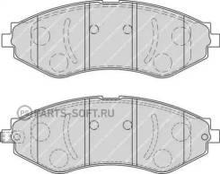 Колодки дисковые п. Daewoo Nubira/Evanda, Chevrolet Lacetti/Epica 03 Ferodo FDB1905 FDB1905_645 22 96405129