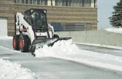 Новый снеговой отвал 2000 мм с гидроповоротом