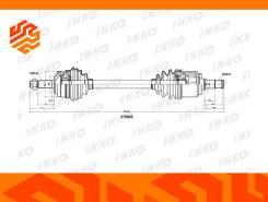 Привод в сборе INKO 215023 левый передний