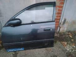 Дверь Toyota Carina (Улыбка) 1995г кузов AT190 передняя левая