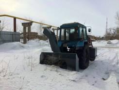 Новый снегоочиститель с приводом от ВОМ для трактора МТЗ