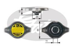 Крышка горловины радиатора 0,9 M/Pa малый клапан Gates RC127