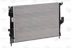 Радиатор охл. для а/м Lada Largus (12-)/Renault Logan (08-) A/C LUZAR 'LRCRELO08139