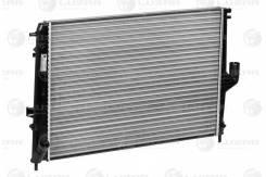 Радиатор охл. для а/м Lada Largus (12-)/Renault Logan (08-)/Duster (10-) AT LUZAR 'LRC09198